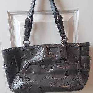 Coach women's East/West gray tote